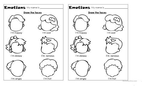 worksheet emotions worksheets grass fedjp worksheet