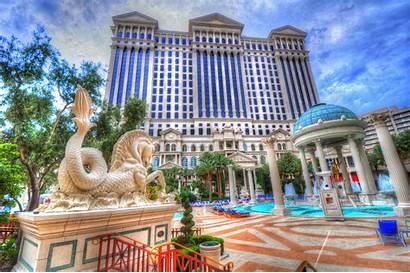 Vegas Las Palace Caesars Pool Wallpapers Desktop