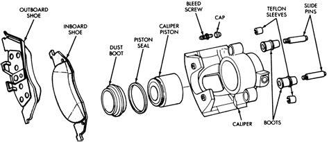 Brake Caliper Components by Repair Guides Front Disc Brakes Brake Caliper