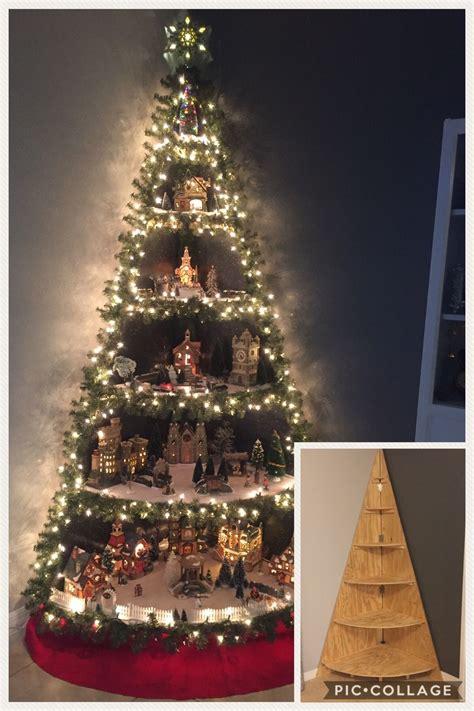 corner christmas tree pin by stephany bertram on my at home diys tree diy tree