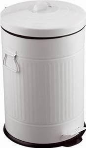 Poubelle Automatique Pas Cher : poubelle cuisine blanche pas cher ~ Dailycaller-alerts.com Idées de Décoration