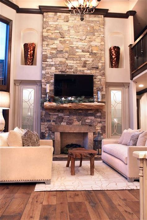 Fantastic Mounting Tv On Stone Fireplace Concept