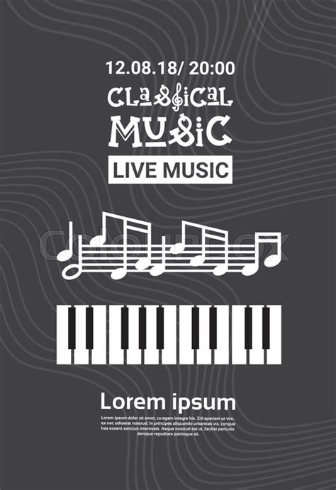 jazz festival   concert stock vector