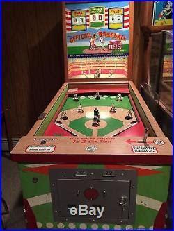 pinball machines baseball