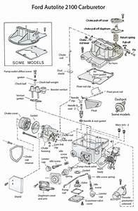 Motorcraft 2100 Vacuum Diagram