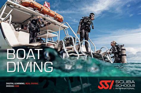 boat diving ssi specialty boat dive vinkeveen