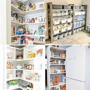 20 diy pantry ideas to build well organized kitchen pantry