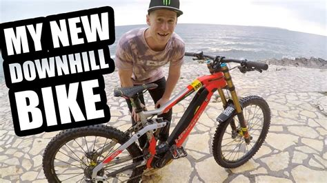 downhill bike  insane youtube