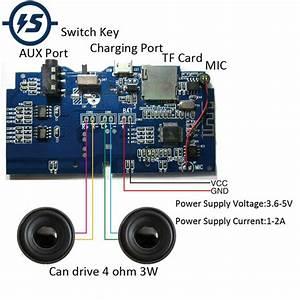 Bluetooth Mp3 Decoder Board Wireless Audio Receiver