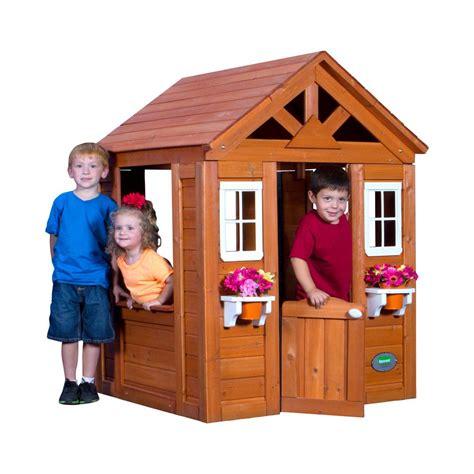 Backyard Discovery Scenic All Cedar Playhouse by Backyard Discovery Timberlake All Cedar Playhouse 65314com
