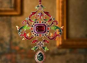 Unique, Crystal, U0026, Metal, Ornaments, For, Christmas, Tree