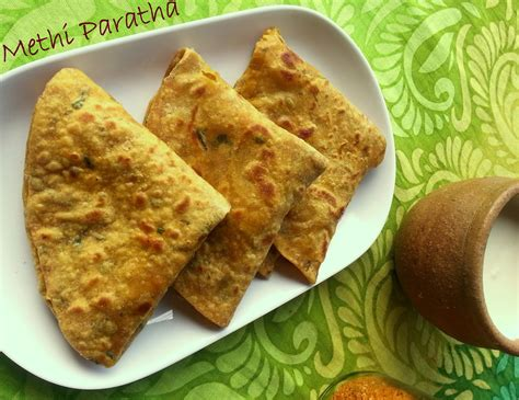 Annapurna Methi Fenugreek Paratha Healthy Breakfast