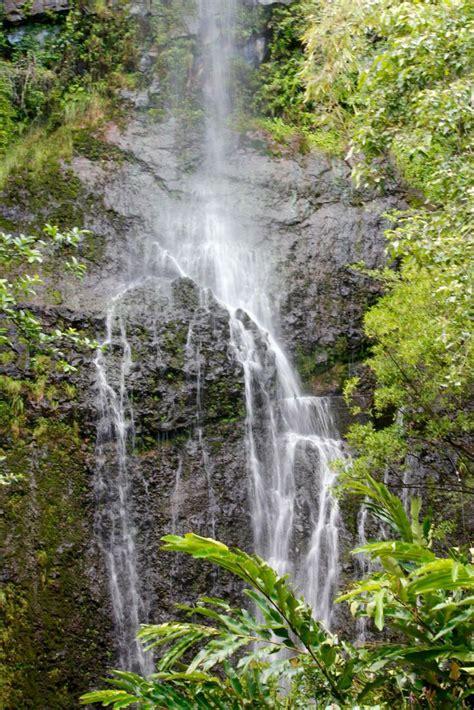 Waterfall on the road to hana maui hawaii. Road to Hana waterfall - Maui (With images) | Road to hana ...