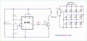 Wireless Power Light Array Using Ic555