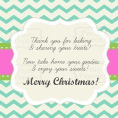 holiday cookie exchange invitation template