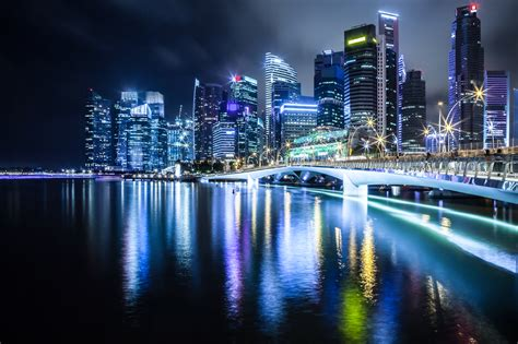 singapore  night photography  zsolt hlinka ego