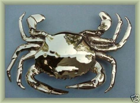 Large Polished Brass Crab Door Knocker Nautical