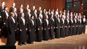 United States Naval Academy Women's Glee Club sings Happy ...