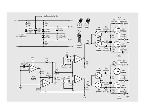 Interesting Class Amplifier Design Regulated