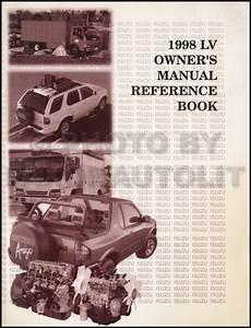 1998 Isuzu Hombre Repair Shop Manual Set Original