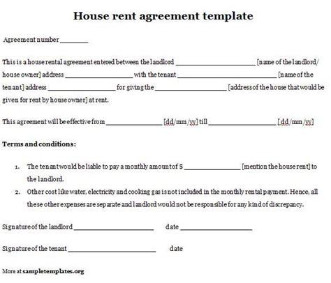 private tenancy agreement template uk room rental