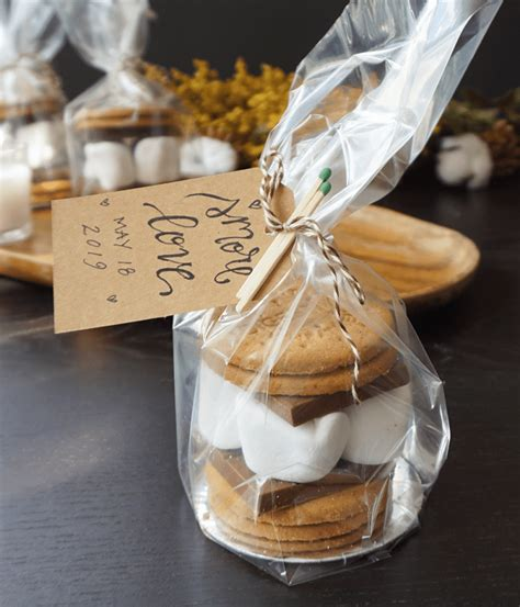 eat em or take em these s mores wedding favors are a