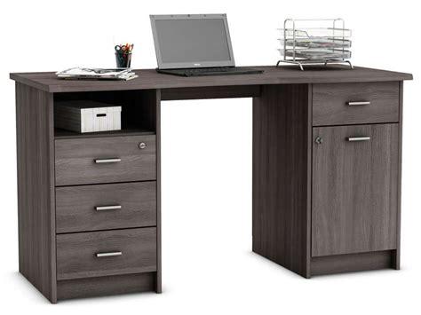 bureau d angle conforama bureau 135 cm chãªne