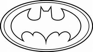 Original Batman Symbol Outline - ClipArt Best