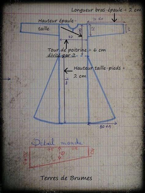 robe medievale terres de brumes