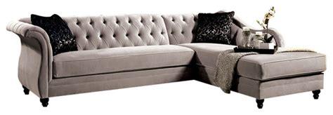 rotterdam sectional sofa warm gray traditional