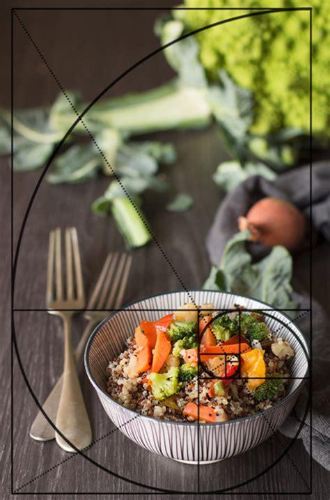 regola dei terzi  sezione aurea  food photography le