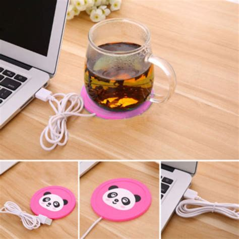 You can keep your coffee or other warm beverage hot and ready while also keeping your devices juiced up with its wireless qi charging mat. 2019 New USB Electronics Heat Cup Warmer Coaster Office ...