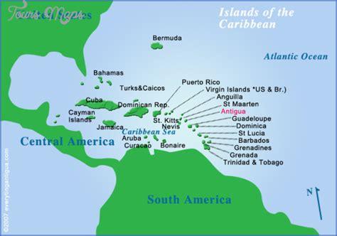 Antigua Map - ToursMaps.com
