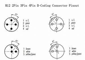 Profibus M12 Connector Pinout