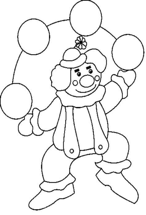 Kleurplaat Clowsgezicht by Clowns Pictures To Color Coloring Home