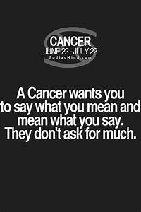 Cancer Zodiac F... Cancer Star Sign Quotes