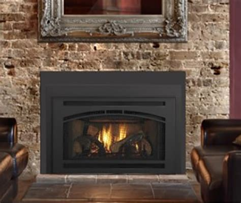 quadra fire gas fireplace insert waffinity front nw