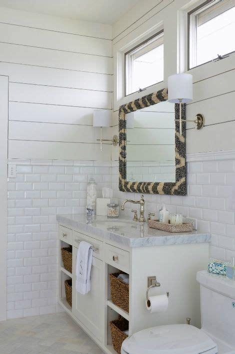 munger interiors bathrooms zebra mirror tongue