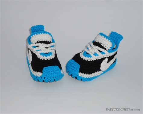 Newbron Baby Shoes : Baby Crochet Shoes Newborn Baby Shoes Blue Slippers Boy