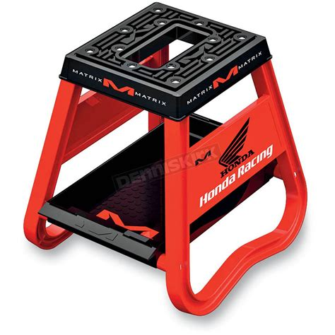 motocross bike stands matrix honda red m2 worx stand hm2102 dirt bike