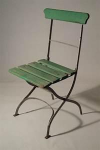 Chaise Le Bon Coin : chaises de jardin en fer anciennes ~ Teatrodelosmanantiales.com Idées de Décoration