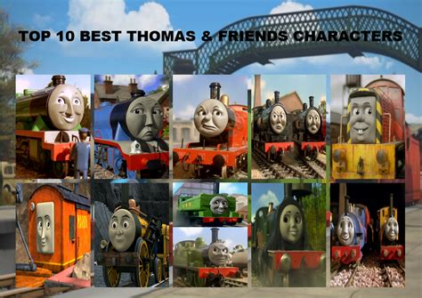 Thomas Tidmouth Sheds Wooden by Top 10 Best Thomas And Friends Characters By Dajoestanator