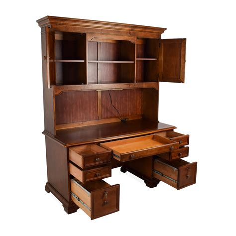 buy desk with hutch 79 off hammary furniture hammary furniture wooden desk