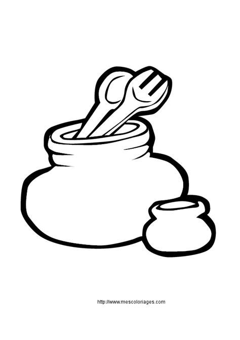 dessin ustensile de cuisine coloriage objets de la maison cuisine à colorier