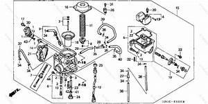 Honda Atv 2002 Oem Parts Diagram For Carburetor