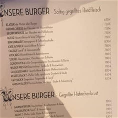 Hans Im Gluck Preisliste by Hans Im Gl 252 Ck 13 Reviews Burgers Karl Friedrich Str