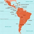 A Complete List of Latin American Countries with their ...