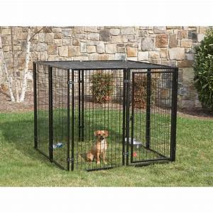 portable dog pen invest in a dog fence portable my With outdoor wire dog kennel