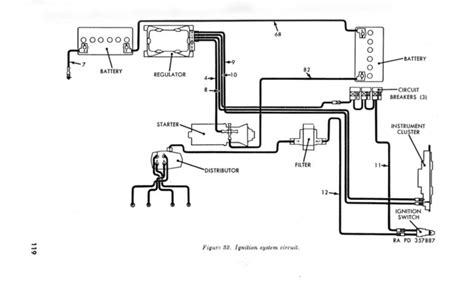 Willy Mb Battery Wire Diagram by Willys M Jeeps