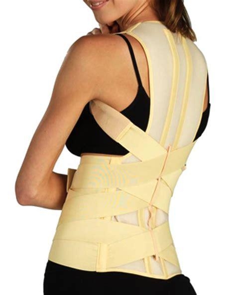 Rückenstütze Geradehalter Stütze Orthese Rücken-Halter